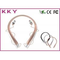 Wholesale CVC Noise Reduction Neckband Bluetooth Headphones Mobilephone Headphones from china suppliers