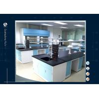 Wholesale Antimicrobial PU Foam Science Lab Workstations , Microbiology Medical Laboratory Furniture from china suppliers
