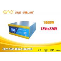 Quality OEM  Dc To Ac 12v 220v 1000w Pure Sine Wave Inverter For Home Use for sale
