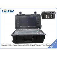 Wholesale COFDM HDMI Portable wireless 4 channels Receiver N Female RF Interface from china suppliers