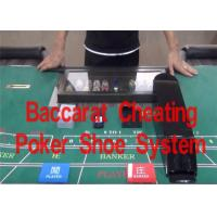 Wholesale Baccarat Cheating Poker Shoe System to Change Poker Results from china suppliers
