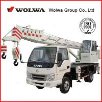 Wholesale Wolwa GNQY-C6 6 tons Automobile crane from china suppliers