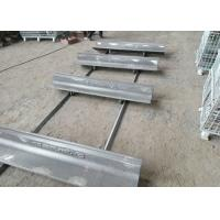 Buy cheap Cr-Mo Alloy Bucket Casting Cap Rail for Grinding Mill Elongation More Than 10% from wholesalers