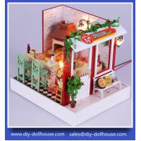 Diy Wooden Miniature Doll House Furniture Toy Miniatura Puzzle Model F003