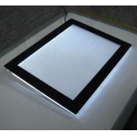Wholesale frameless acrylic light box , LED Illuminated,magnetic illuminated sign,led acrylic  frame from china suppliers