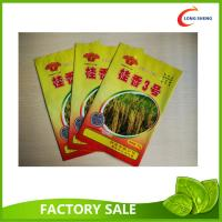 Wholesale Plastic Flat Bottom Open Heat Seal Packaging Bags for seed packaging from china suppliers