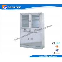 Wholesale Swing Glass Doors Metal Hospital Furniture Cupboard for Store file and book from china suppliers