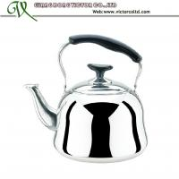 Wholesale High Quality Stainless steel whistling kettle with steamer tea infuser 1L, 1.5L, 2L, 3L,4L,5L, 6L from china suppliers