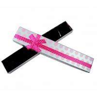 Wholesale Long Bracelet Necklace Jewelry Cardboard Boxes / Colorful Cardboard Gift Boxes from china suppliers