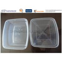 Wholesale 650ml Large Packaging Plastic Food Containers kitchen , PP disposable box from china suppliers