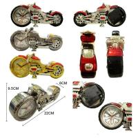 Buy cheap motor shape quartz clock for promotional gift from wholesalers