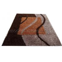 Wholesale Modern Hand-tufted Polyester Shaggy Rug, Chocolate Contemporary Malai dori Area Rugs from china suppliers