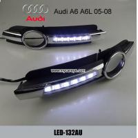 Wholesale Sell AUDI A6 Brand Auto LED Daytime Running Lights DRL driving daylight from china suppliers