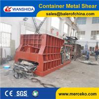 Wholesale Manufacturing machines Q43W-4000B Automatic Metal Container Shear with big size feeding mouth from china suppliers