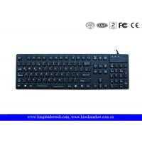 Wholesale Desk Top Waterproof Silicone Keyboard F1 - F12 Function Keys and Numeric Keys from china suppliers