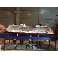 Wholesale Genting Dream Cruise Ship Model With ABS CNC Engraving  Propeller Material from china suppliers