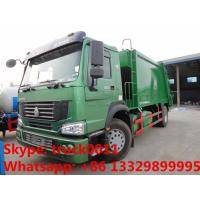Wholesale SINO TRUK HOWO LHD/RHD garbage compactor truck for sales, Best price12cbm compacted garbage truck for sale from china suppliers