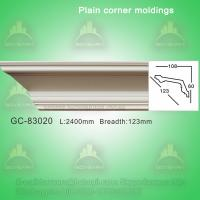 Wholesale Good quality durable PU crown moldings/cornice design ideas from china suppliers