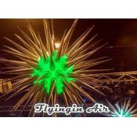 Wholesale Hot Shiny Silver Inflatable Light Star with 81 horns for Party and Concert from china suppliers