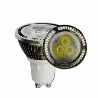 Wholesale High Efficiency 3W 280lm Dimmable Led Spotlight Bulbs Aluminum Shell from china suppliers