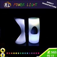 Wholesale LED Lighted Plastic Bar Stool Chair from china suppliers