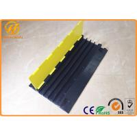 Wholesale 4 Channel Heavy Duty Rubber Floor Cable Cover for Events Cable Management from china suppliers
