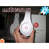 Quality Monster Beats White By Dr Dre Studio Headphones for sale