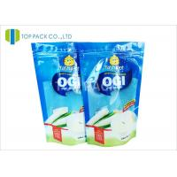 Wholesale Blue Clear Front 500g Stand Up Food Pouches , Powder Plastic Bag Packaging Food Grade from china suppliers