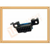 Wholesale Automotive 16 Pin Obd Female Connector / Obd2 16 Pin Connector SOF009 from china suppliers