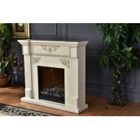 Buy cheap European Style Remote Control Antique Decorative Fireplace With Wooden Mantel from wholesalers