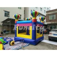Wholesale PVC Tarpaulin Inflatable Jumping Castle For Kids , Small Bouncy Castle from china suppliers