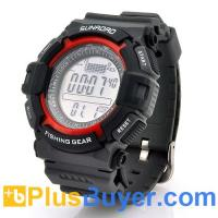 Wholesale Digital Fishing Barometer Watch with Altimeter & Thermometer from china suppliers