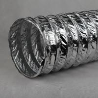 Quality Durable Non-alloy Acid Two Layer Aluminum Flexible Ducts Hose For HAVC for sale