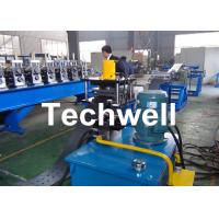 Wholesale High Efficient Storage Shelf Rack Roll Forming Machine With Material Thickness 2.0-2.5mm from china suppliers