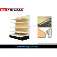 Wholesale Medium Duty Supermarket Display Shelving Grocery Store Shelves With MDF Wood Back from china suppliers