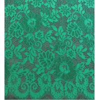 Wholesale Green Scalloped Edge Lace Fabric from china suppliers