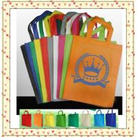 Wholesale nonwoven shopping bag, customized shopping bag; from china suppliers