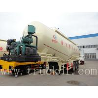 Wholesale 3 axles 50m3-90cbm powder material transport semitrailer for sale from china suppliers