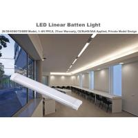 Wholesale 90-140lm/W Efficiency LED Linear Light With Aluminum / PC Covers , 3 Year Warranty from china suppliers