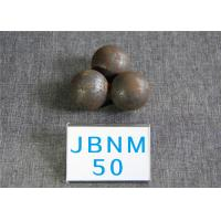 Wholesale High Surface Hardness 62-63HRC Hot Rolled Grinding Balls for Mining / Steel Balls for Ball Mill , Grinding Resistant from china suppliers