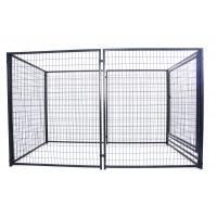 Hot sale 5' x 10' x 6' foot galvanized welded wire outdoor large dog kennel wholesale