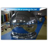 Wholesale Popular Inflatable Holiday Decorations Air Mirror Ball With Bottom For Advertising from china suppliers