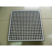 Wholesale 45% Rate Perforated Raised Floor Tiles , Computer Room Raised Floor Panels from china suppliers