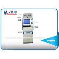 "Wholesale 15"" Cold Rolled Steel Coin Counting Machine Locations , Touch Screen Monitor Kiosk Cabinet from china suppliers"