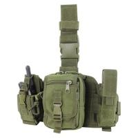 Wholesale Flashlight Molle Magazine Pouches / Triple Magazine Pouch Leg Rig from china suppliers