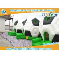 Wholesale Family Funny Inflatable Bouncy Castle Football Bounce House For Party 15ft * 12ft from china suppliers