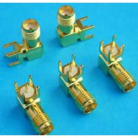 Buy cheap right angle rf coaxial sma connectors for pcb from wholesalers