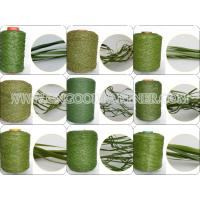 Wholesale SGS Yellow / White / Blue Artificial Grass Yarn For Home Decoration from china suppliers