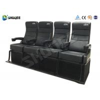 Buy cheap Safety 4D Movie Theater With Pure Hand - Wrapped PU Leather Motion Seats from wholesalers