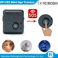 Wholesale Sos panic button gps tracker with micro sim card for gps vehicle tracking system V8S from china suppliers